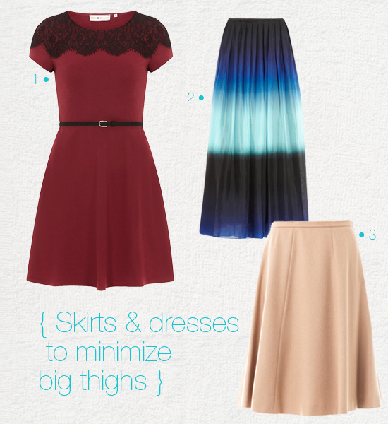 How to Dress for big thighs?