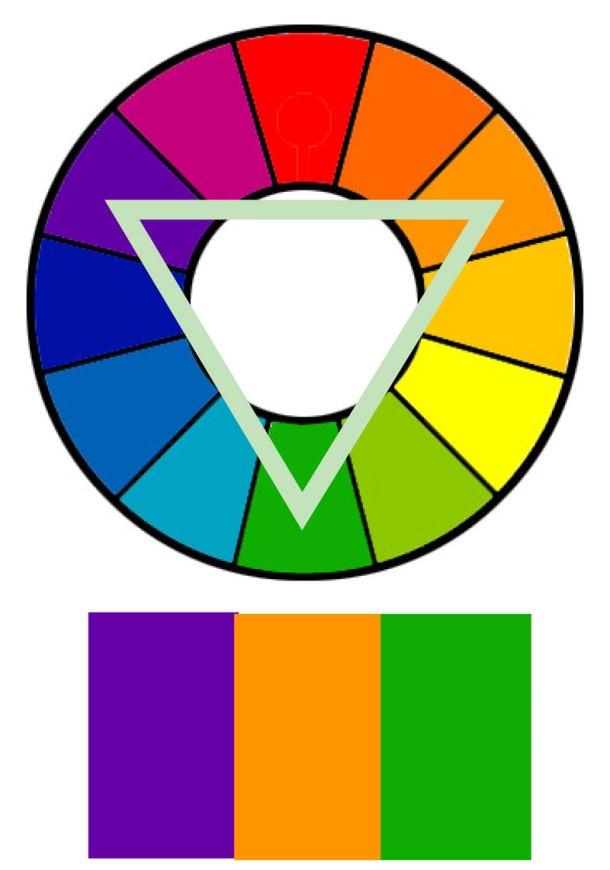Triad-colors