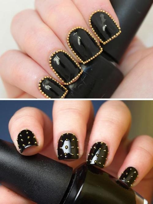 embellished nails