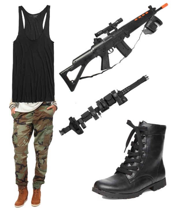Michelle-Rodrigez-SWAT-halloween-costume