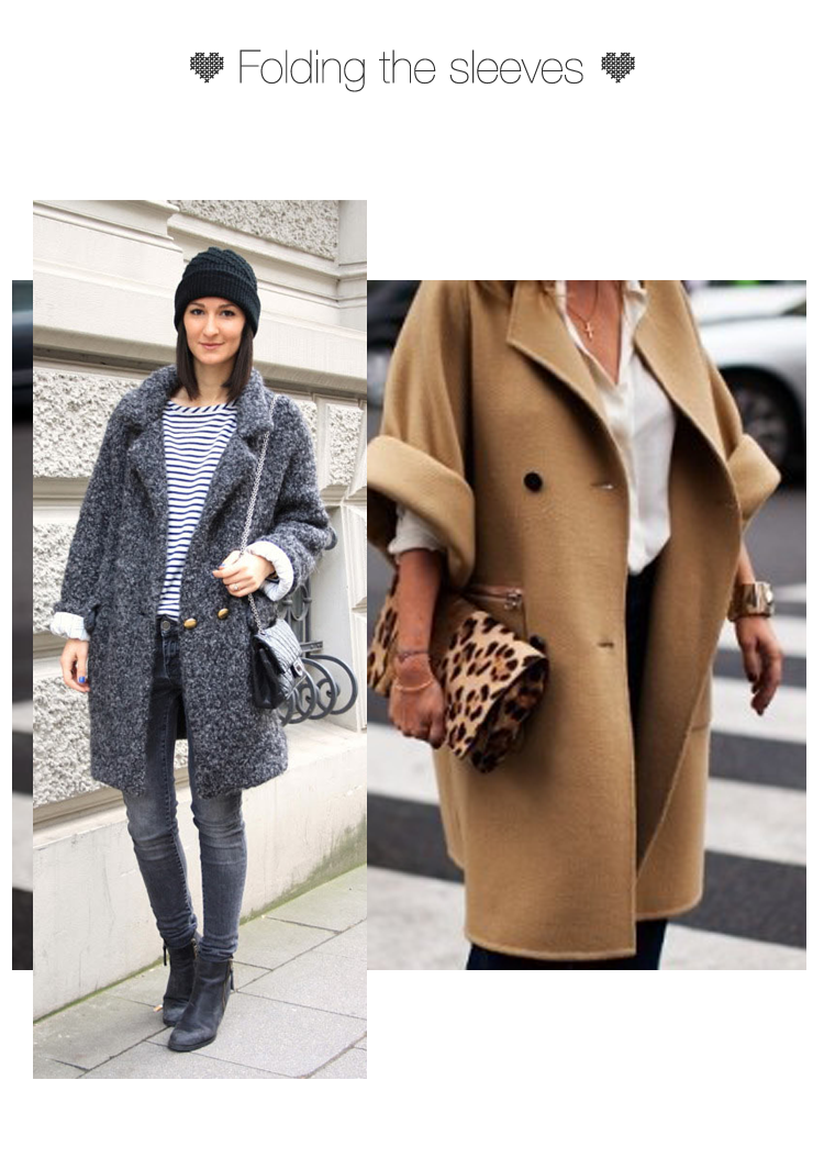 How to wear the Oversized Coat trend 2013?