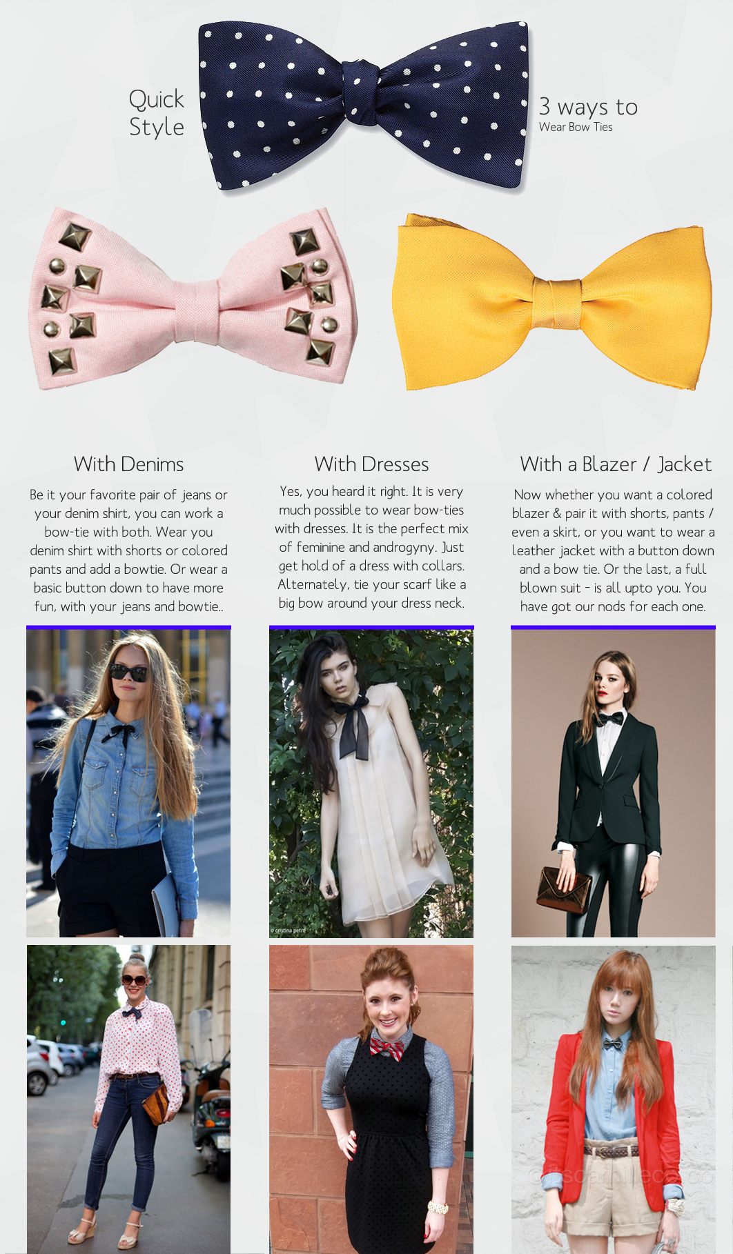 How to wear a bow tie pinterest