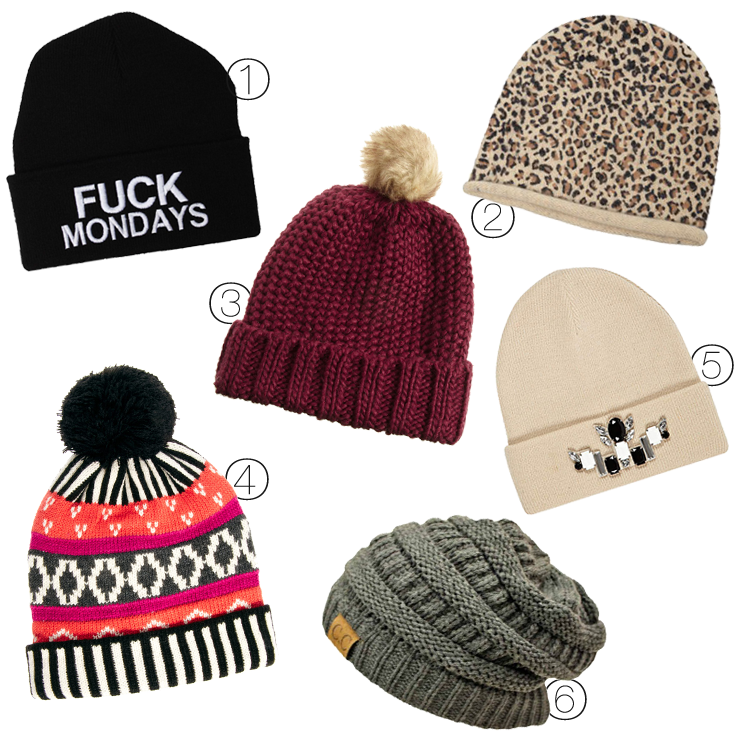 how to put on a beanie
