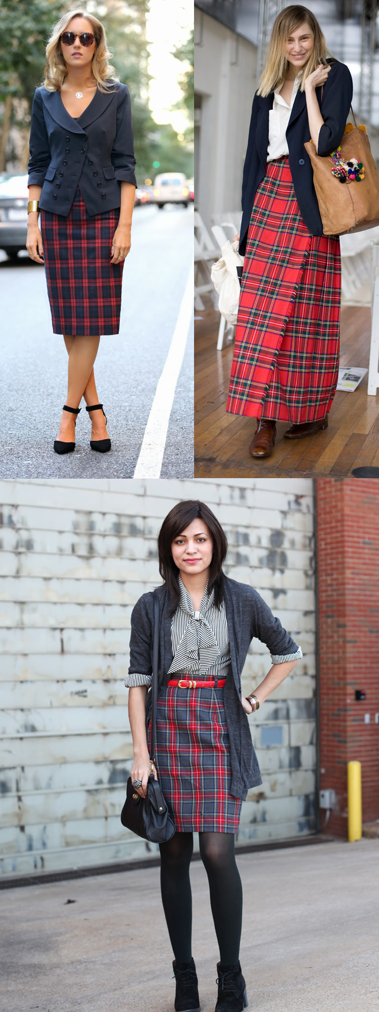 5 Ways To Wear Tartan