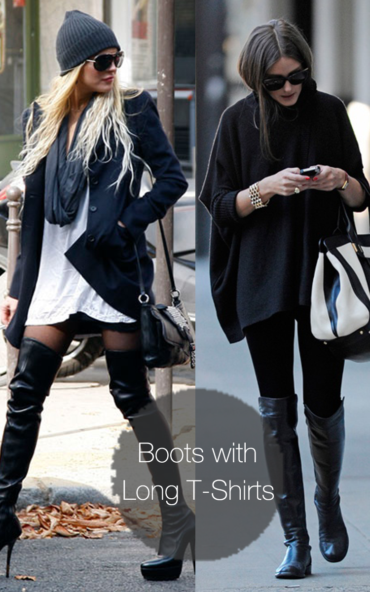 3 ways to wear thigh high the knee boots