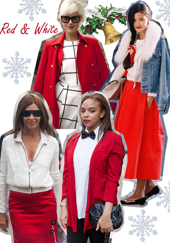 Christmas Cheers : Red and Green Outfit Ideas |
