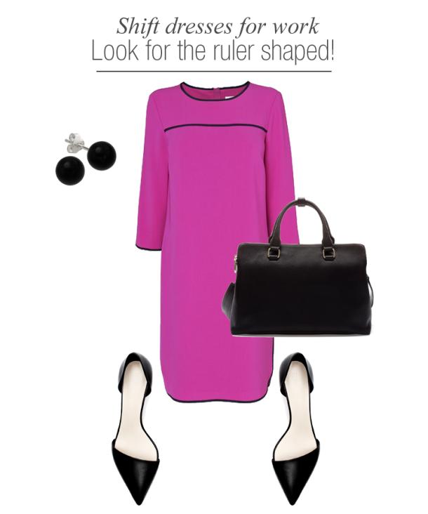 shift-dresses-work-wear-for-ruler-shaped-women