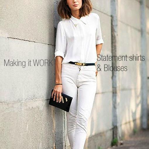 Workwear Week: Statement Button Downs and Blouses
