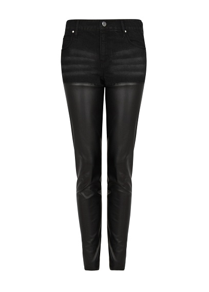 leather finish pants under 50 $