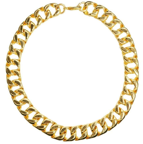 gold chocker for under 50$