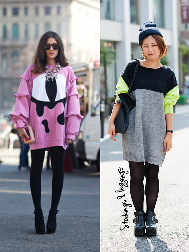 Oversized Sweater Leggings
