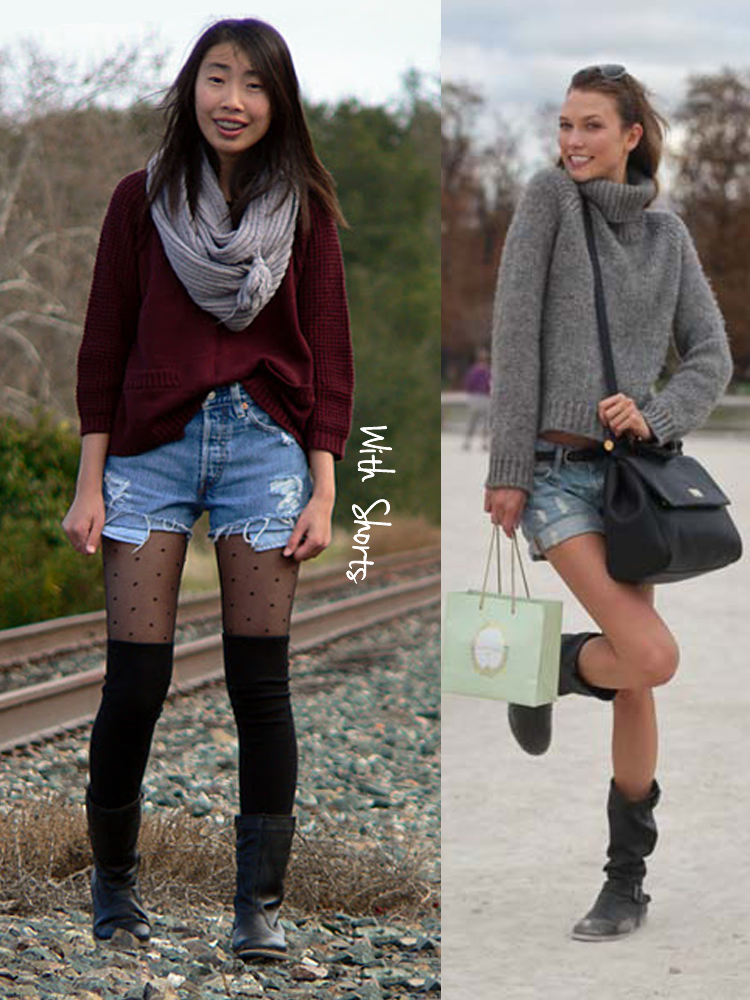 oversized,sweaters,with,shorts