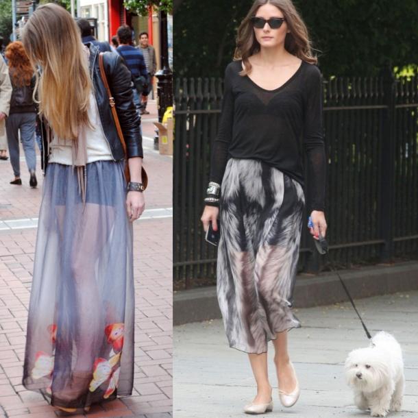 Printed-sheer-skirts