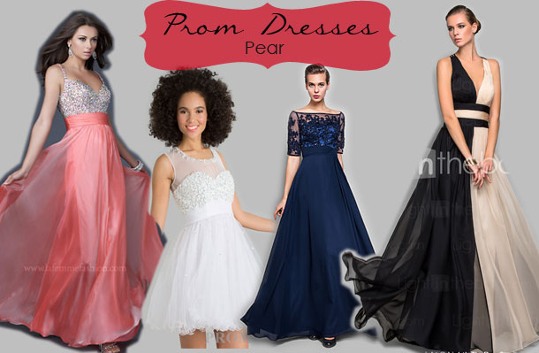 Evening dresses for pear shaped figures
