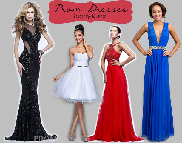 Prom dress types body shapes