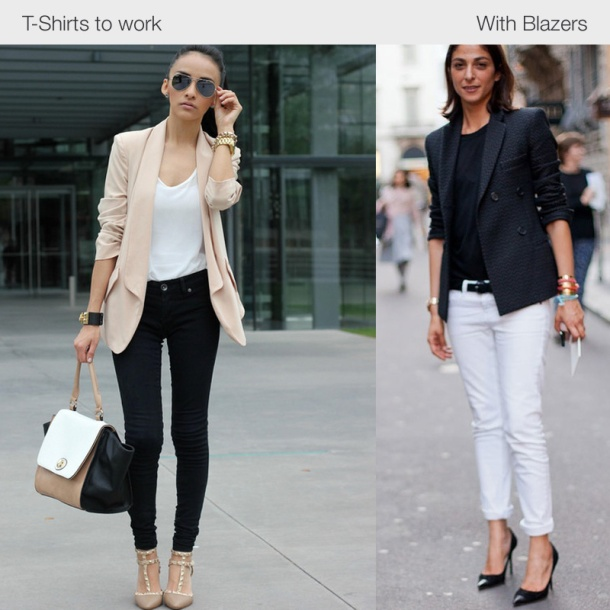 tshirts-to-work-with-blazers