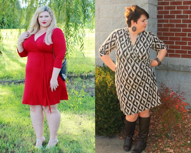 wrap-dresses-plus-sized
