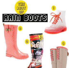 The Best of Rain Boots (Wellies)